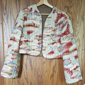 Beautiful quilted cropped jacket